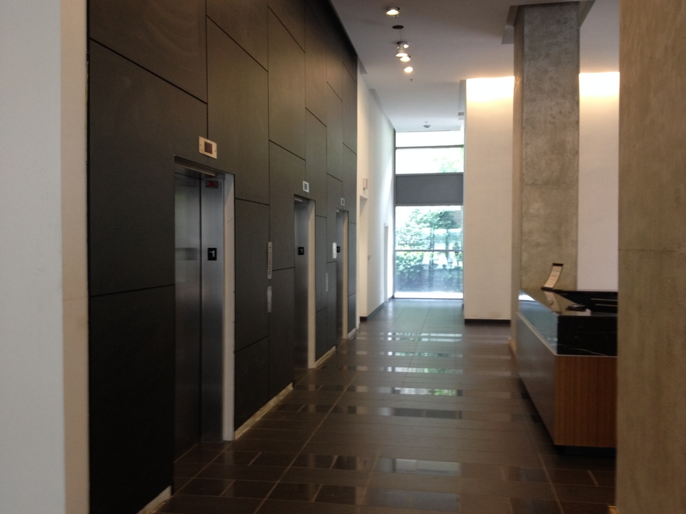 In Progress - South Elevators