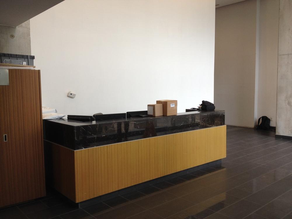 In Progress - North Security Desk