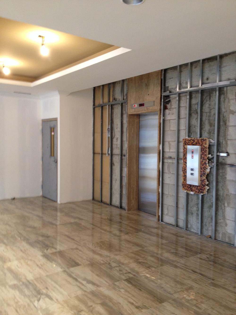 In Progress - Elevators Lobby