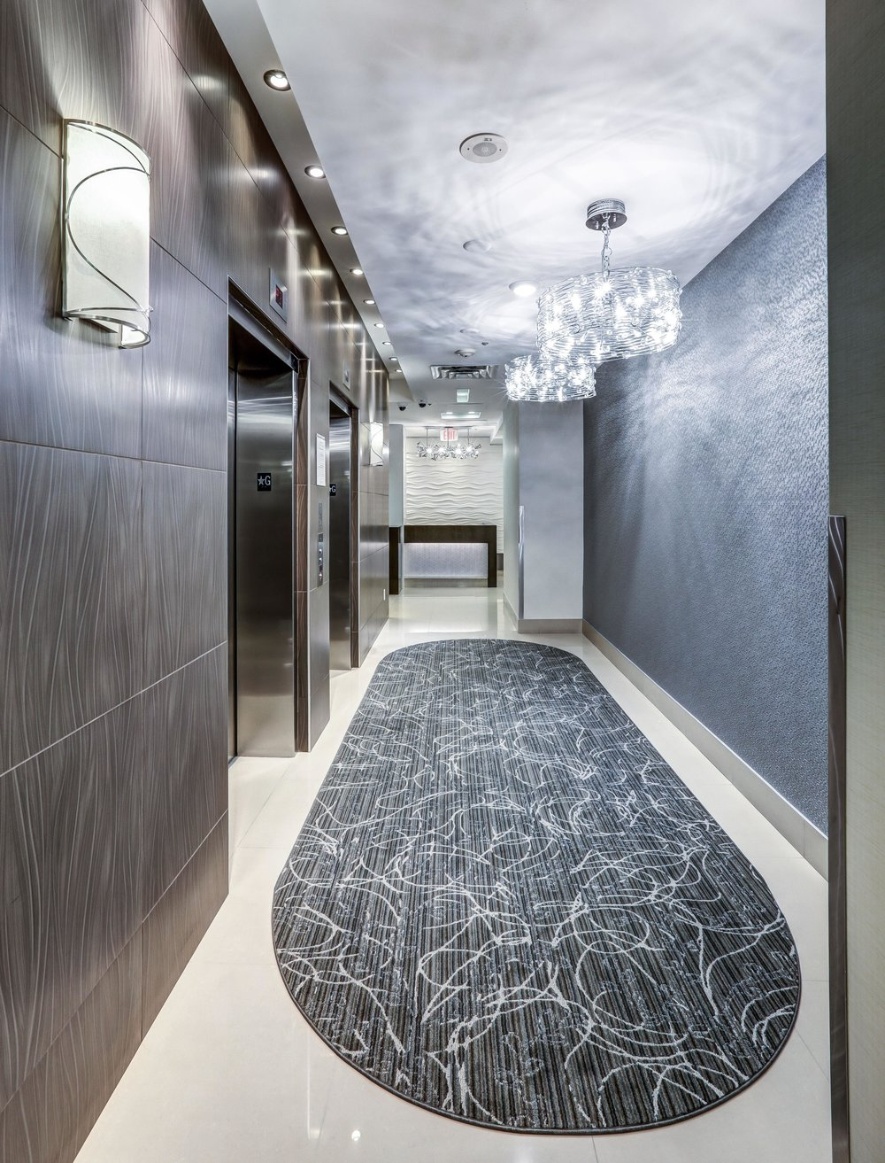 Completed Elevator Lobby
