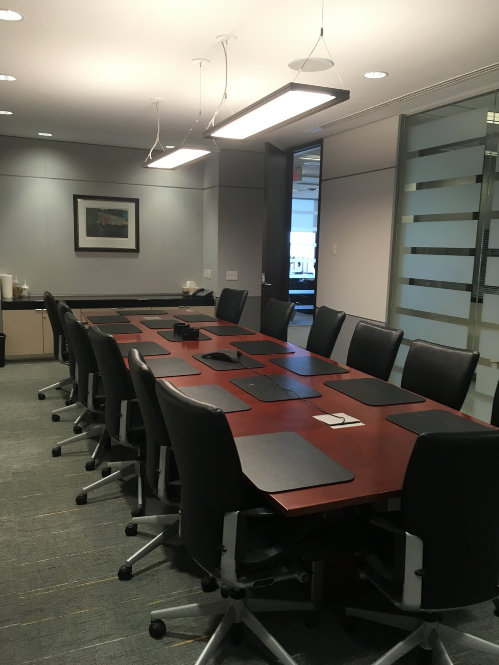 Completed Boardroom