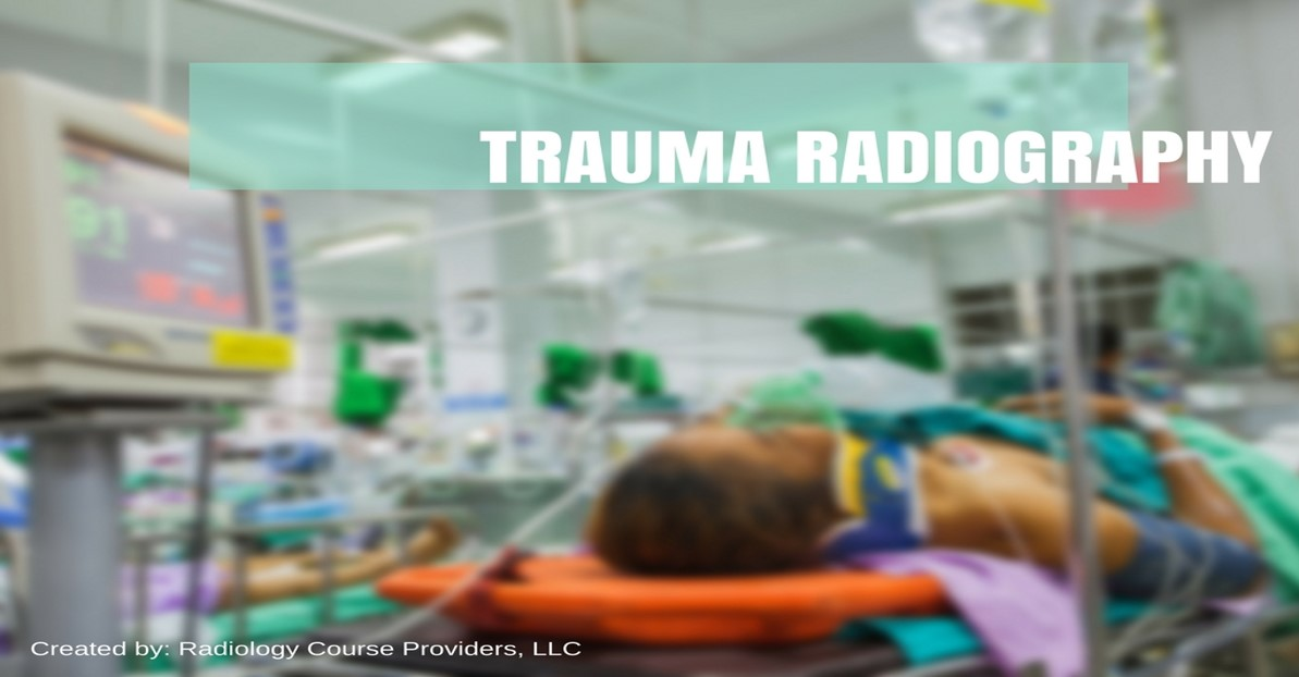 trauma radiography positioning