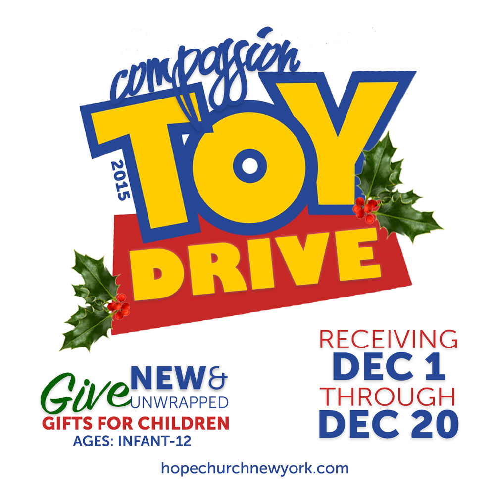 It's the holiday season and what better way to celebrate than to share the joy and love with those who are in need!   You can put a smile on a child's face by donating a NEW toy.  We will be collecting your donations through Sunday, December 20.  Just bring your unwrapped toy, labeled with gender and age, to our Concierge Table at Regal Cinemas 8, Atlas Park Mall, Sunday at 10am.  We will distribute these toys on Wednesday, December 23, 6pm, in the Community Room at Atlas Park Mall.