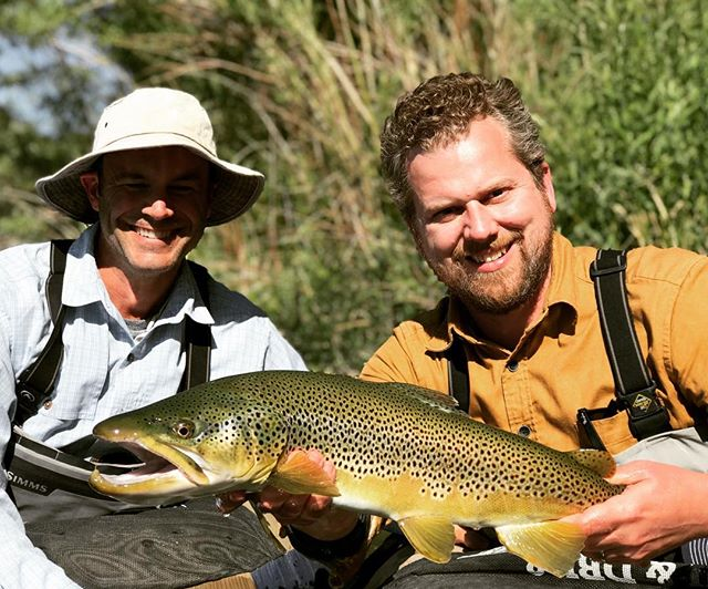 ...and sometimes the brown trout of a lifetime makes an appearance... @silvercreekoutfitters #magnumtrout @imarshall