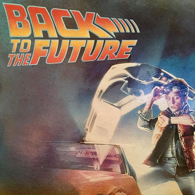 Hold on. So the Back To The Future Soundtrack is not only lead by Huey Lewis & The News but also features Lindsay Buckingham & an Eric Clapton track produced by Phil Collins? What could be next? Etta James on Side 2?! #hidinginplainsight #puregold @ericclapton @officialphilcollins #hueylewisandthenews @realmikejfox @mrchristopherlloyd @crispinhellionglover @lea_thompson #backtothefuture #doyourselfafavour