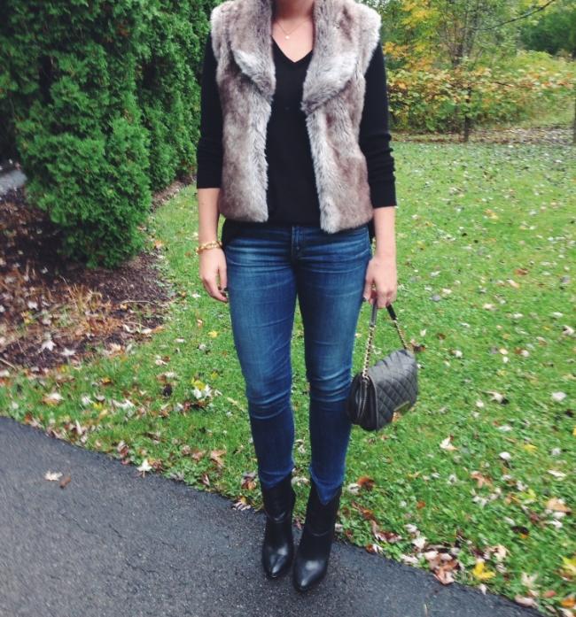 The Casual Classic // Fur Vest
