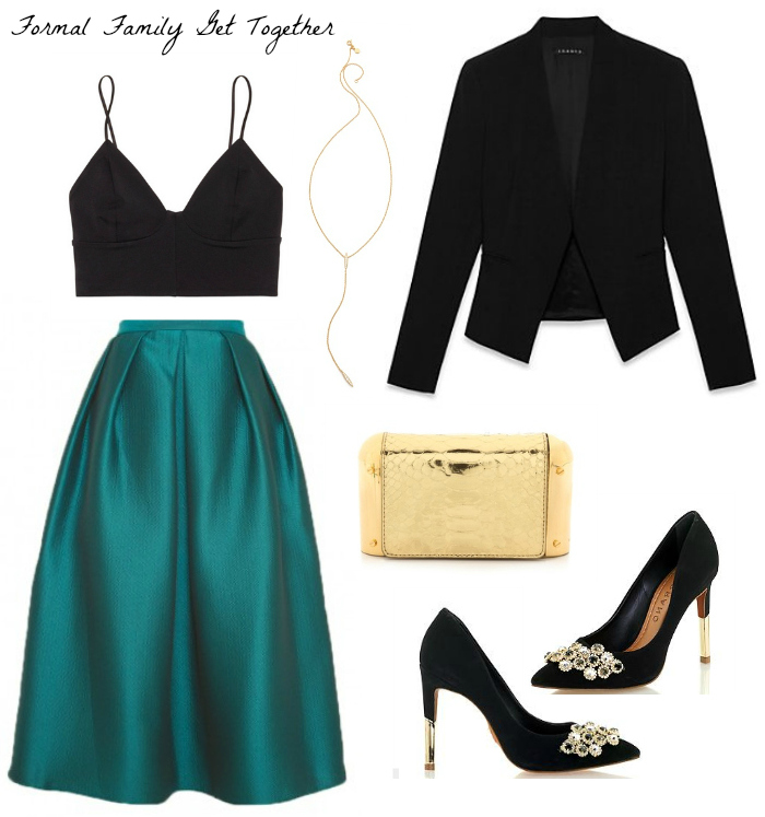 The Casual CLassic | Holiday Party Attire