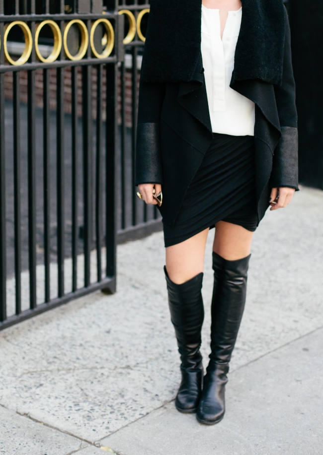 The Casual Classic | Helmut Lang Asymmetrical Skirt