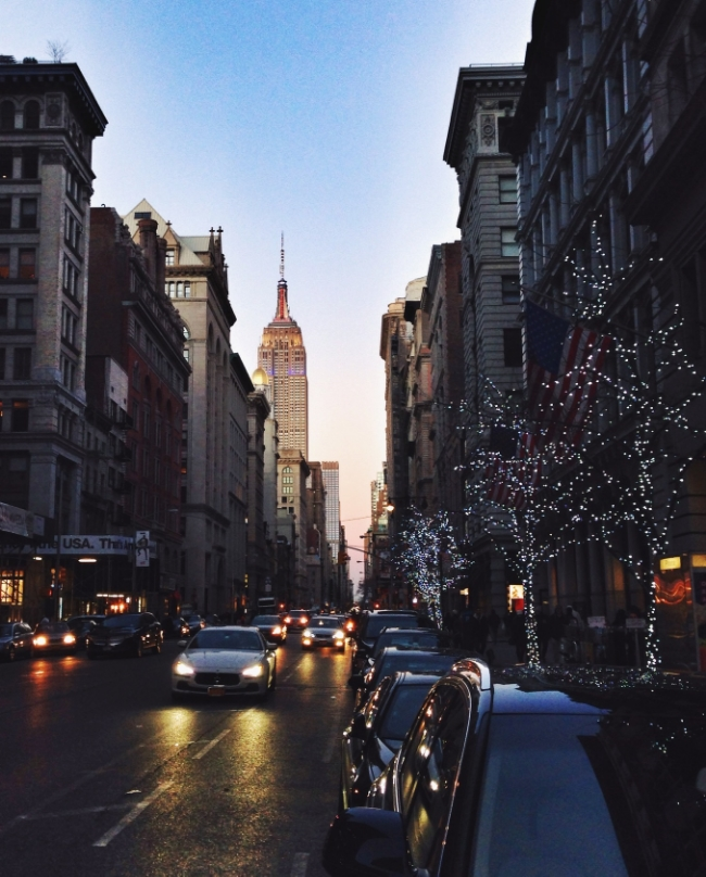 The Casual Classic | Christmas in NYC
