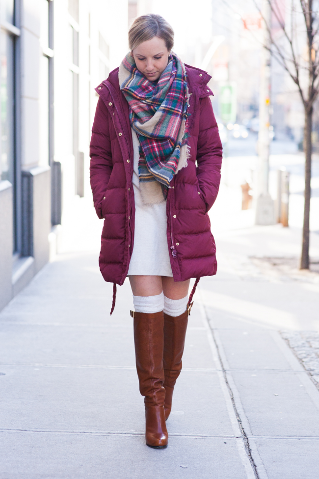 The Casual Classic | Burgundy & Plaid