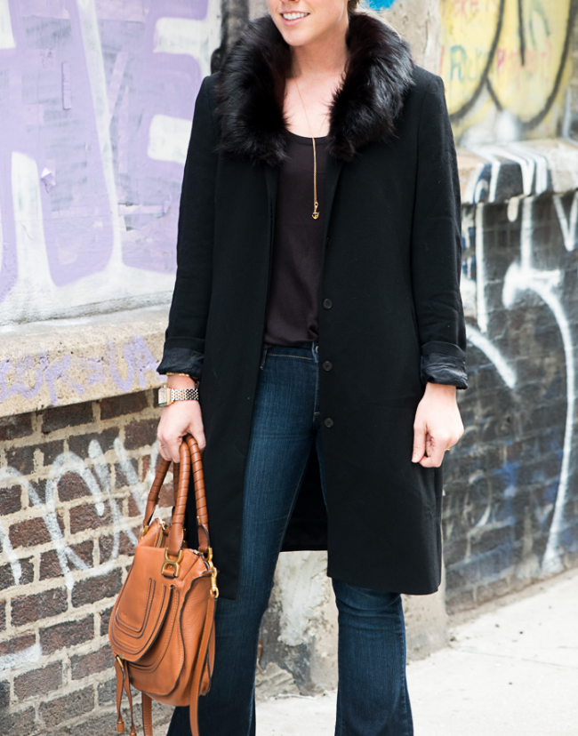 The Casual Classic | Black Fur