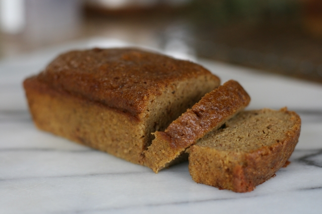 The Casual Classic | Paleo Pumpkin Loaf