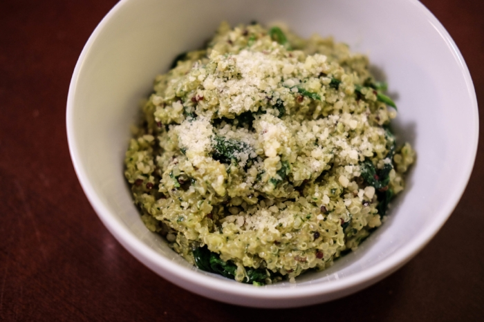 The Casual Classic // Pesto Quinoa