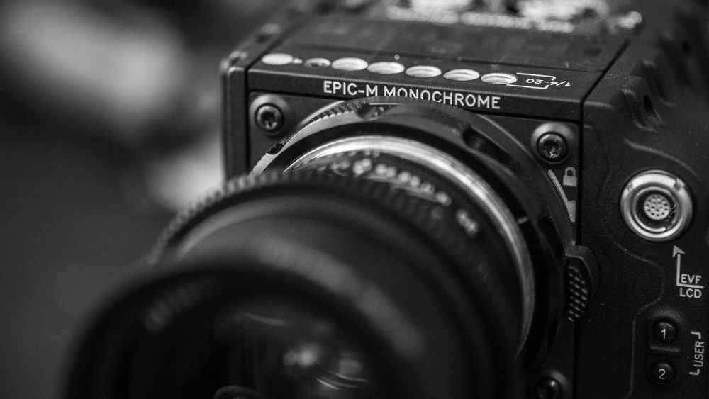 RED Epic Dragon Monochrome