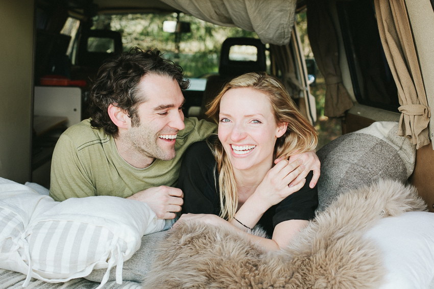 ERIN + BRIAN Couples A west-coast camping adventure