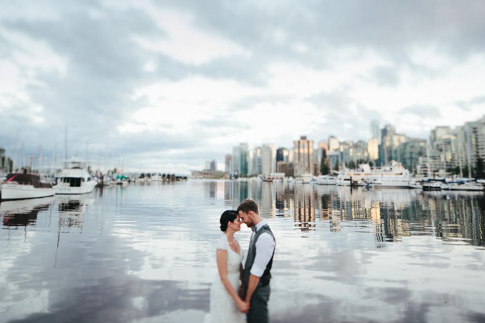 DANI + MARCEL Weddings Oceanside in Stanley Park