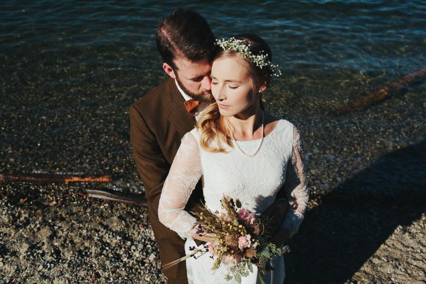 ANDREA + KENTON Weddings East Vancouver Bohemian