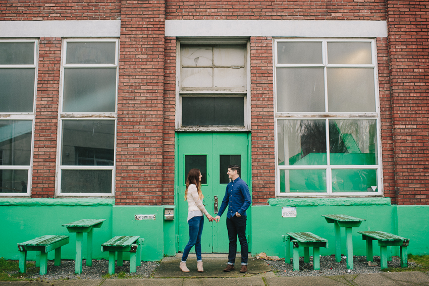 ASHLEY + DEVIN Couples Urban explorations