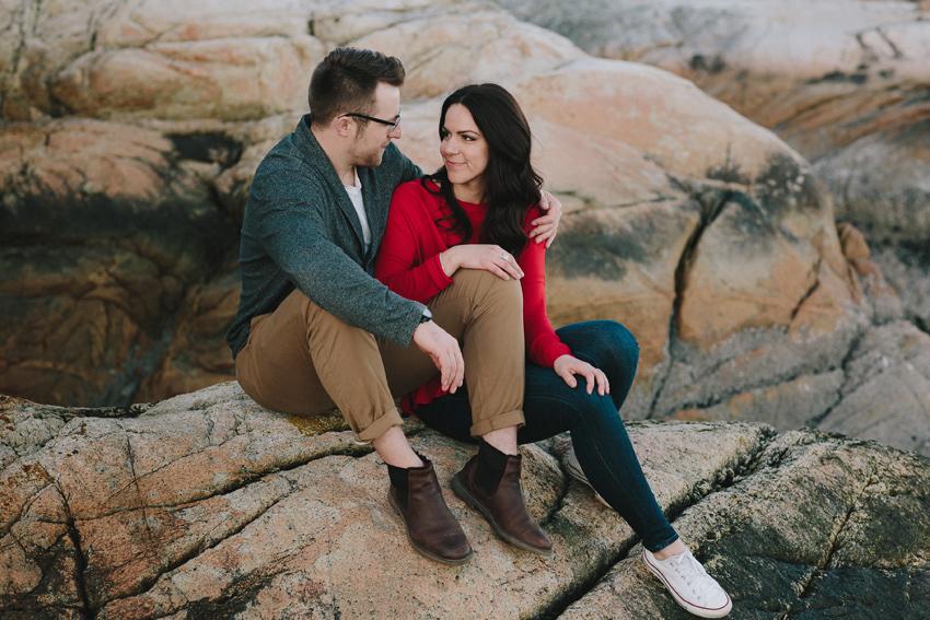 WHITNEY + JOEY Couples A Lighthouse Park Adventure