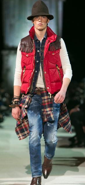 D-Squared Fall 2015 Menswear