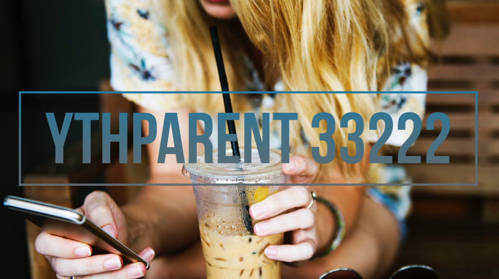 Looking to stay up to date with what is happening at Canvas Youth? Text YTHPARENT to 33222 and you will receive text messages from Canvas Youth with info on everything that is happening at YTH.