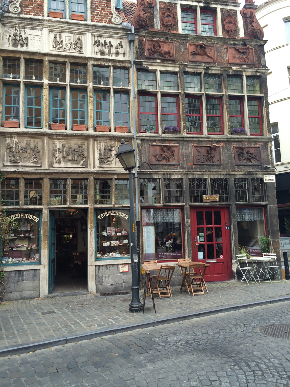 Pretty building in Ghent. Childrens shops and gorgeous products for children