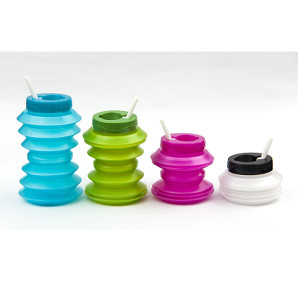 Collapsible water bottles £4.99 Ohyo at Toyella.