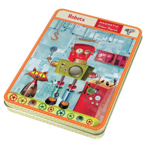Robots magnetic dress up game £14.99 Toyella