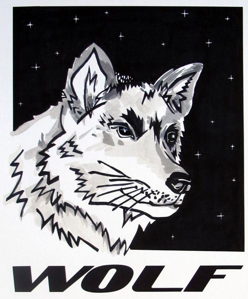 Wolf by Alice Stallard