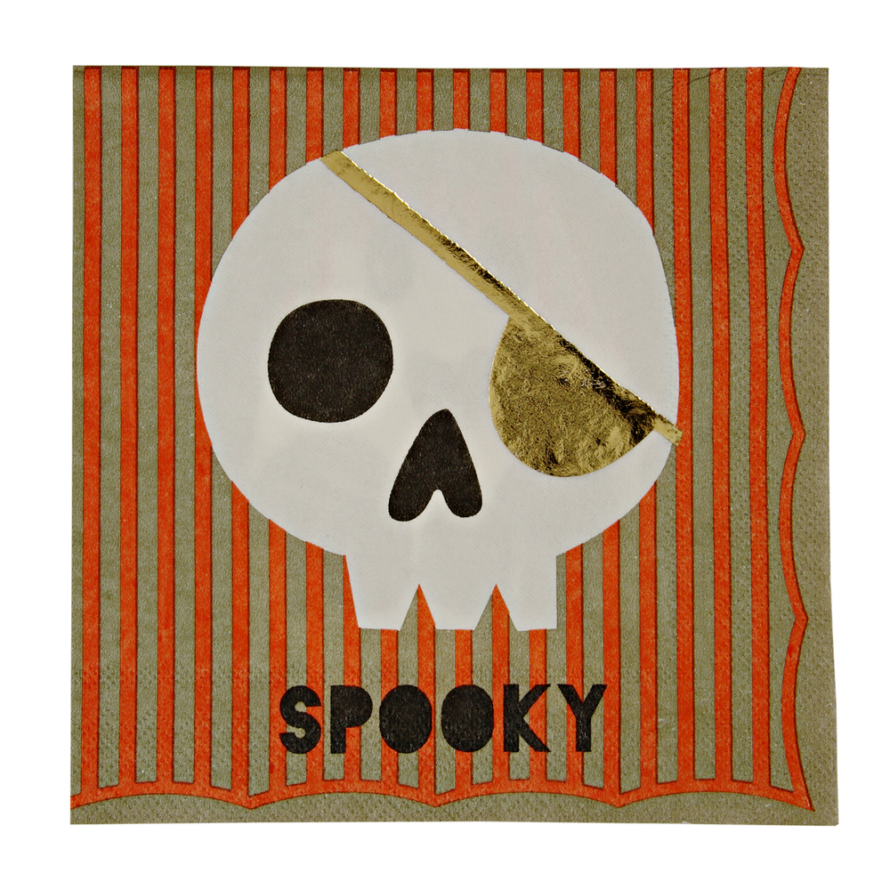 Spooky napkins