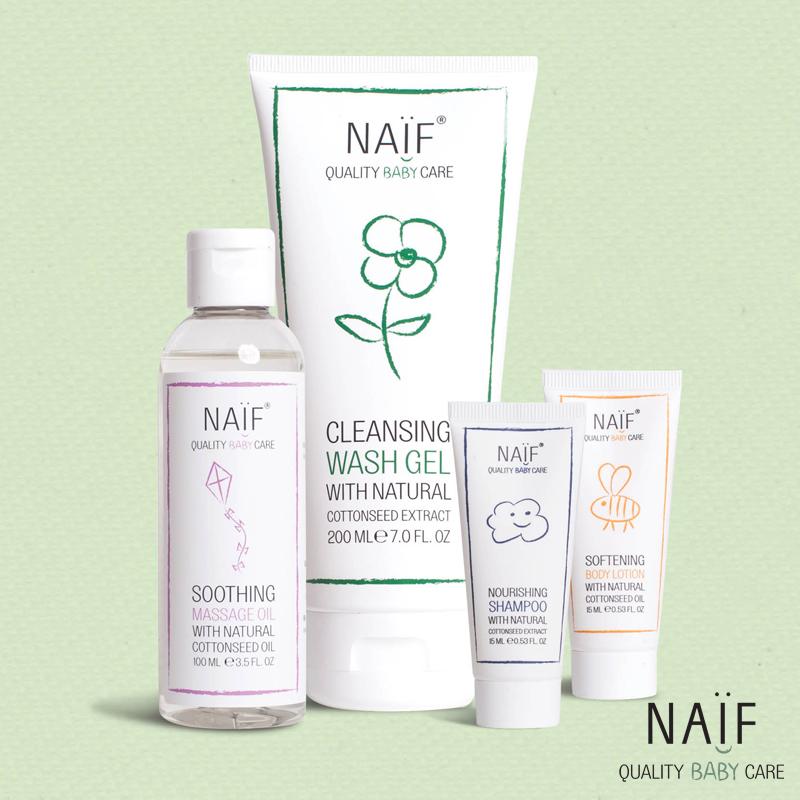 Naif baby skincare