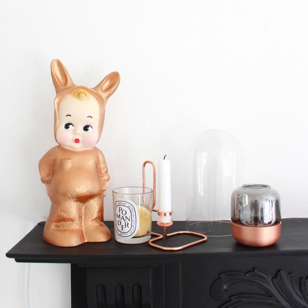 Lapin and Me lamps and woodland dolls