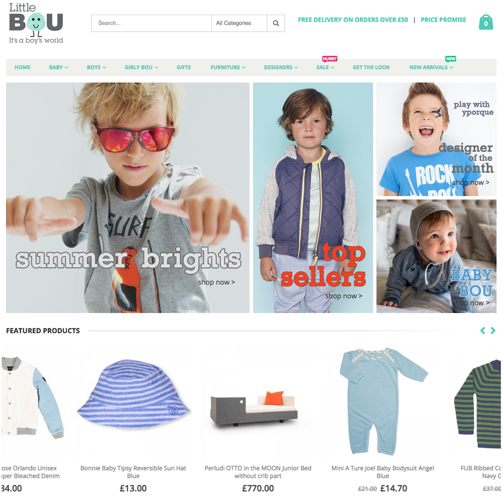 Little Bou homepage