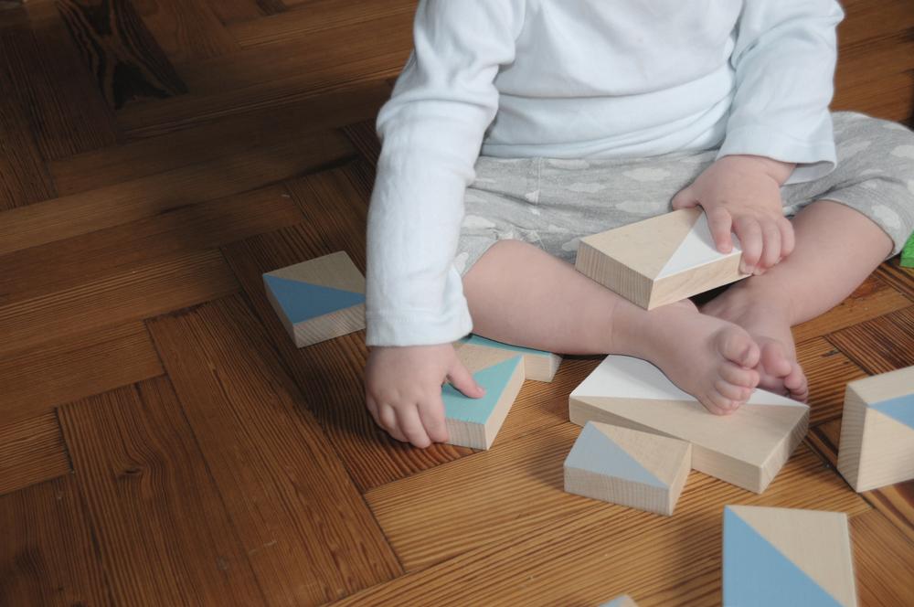 pinch toys wooden blocks