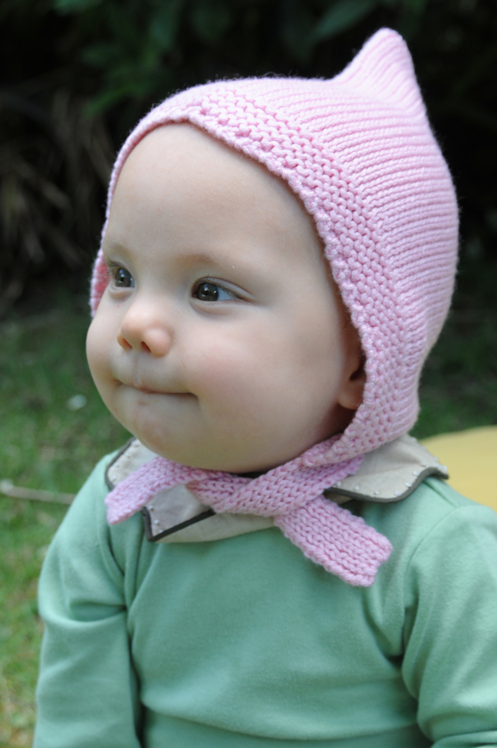 elfie london baby bonnet