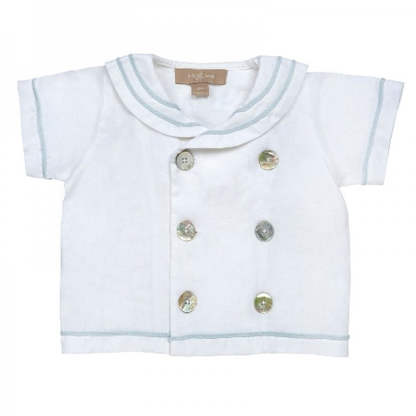 little Bou sailor top