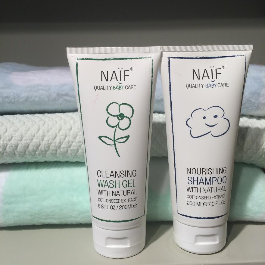 naif care baby skincare
