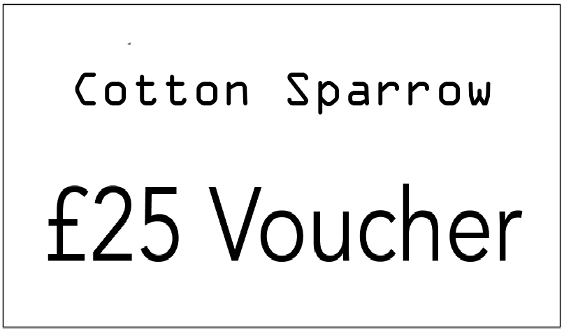 cotton sparrow £25 voucher giveaway