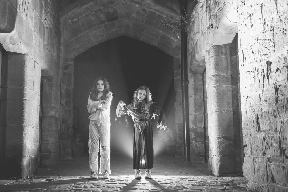 St Briavels Castle zombies