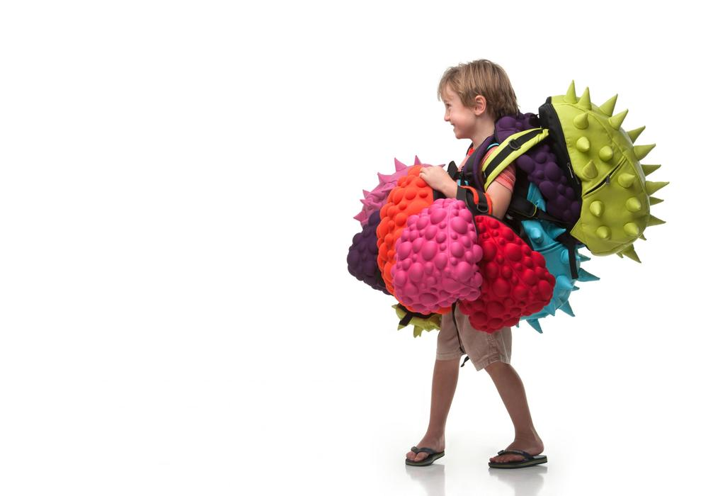 Selection of Spiketus Rex and Bubble backpacks