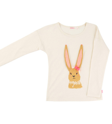 Tigerbella girls Billieblush rabbit long sleeve top