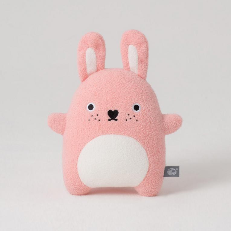 Noodoll pink ricecarrot plush toy