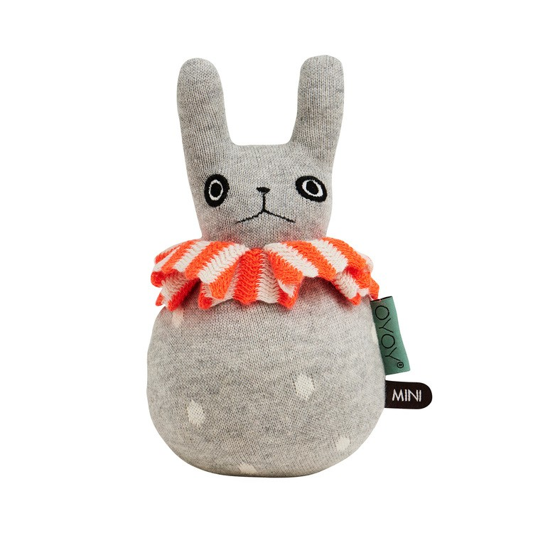 Lullabuy OyOy roly poly rabbit soft toy