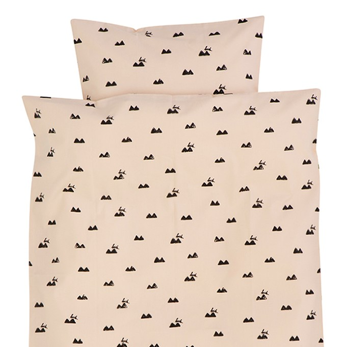 Lullabuy Ferm Living rose rabbit single bedding