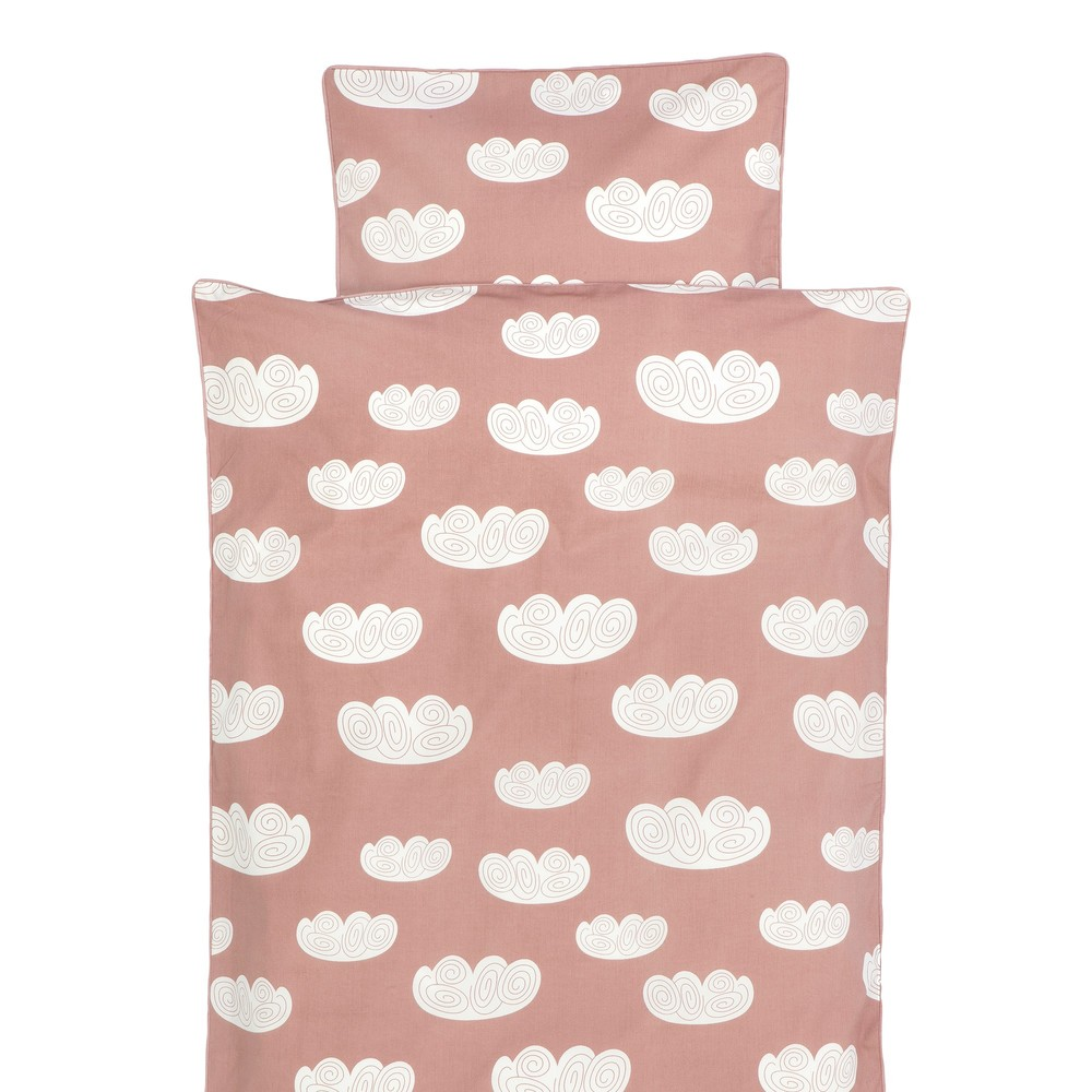 Lullabuy Ferm Living cloud rose cot bedding
