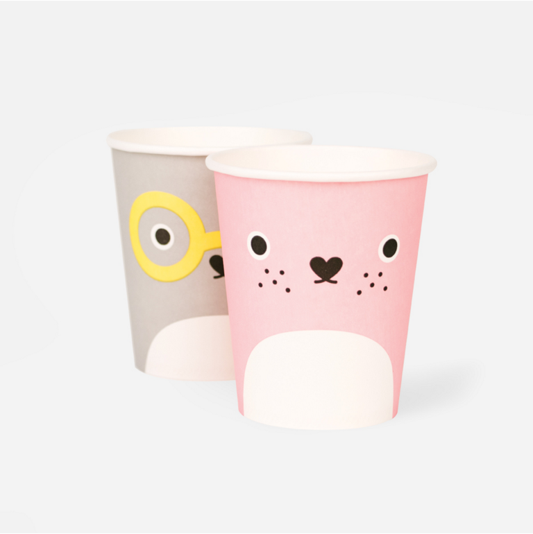 Noodoll paper party cups