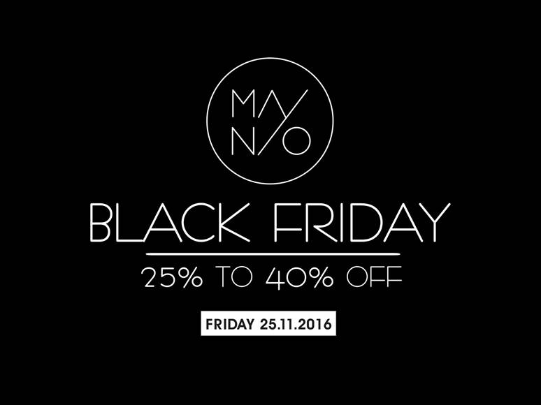 Mainio Friday 25th. 25-40% discount