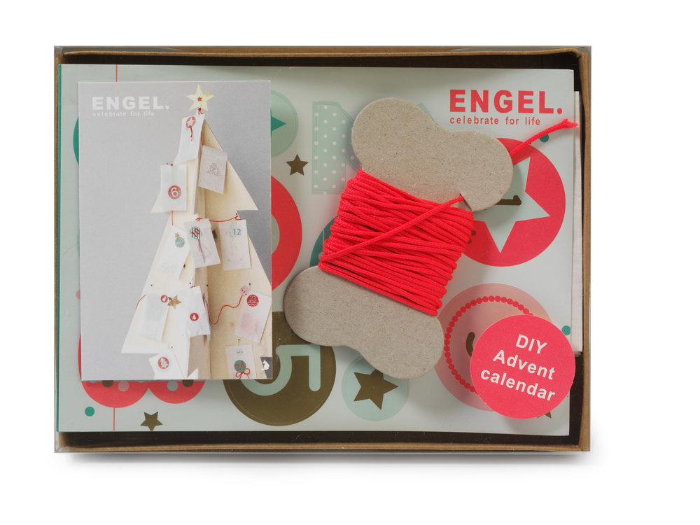 DIY advent calendar by engel
