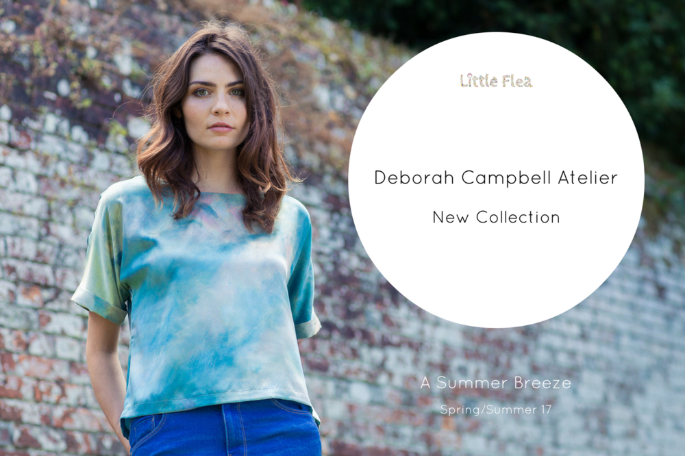 Deborah Campbell Atelier in collaboration with artist Tabitha Wilson. A summer breeze top £120 available at John Lewis