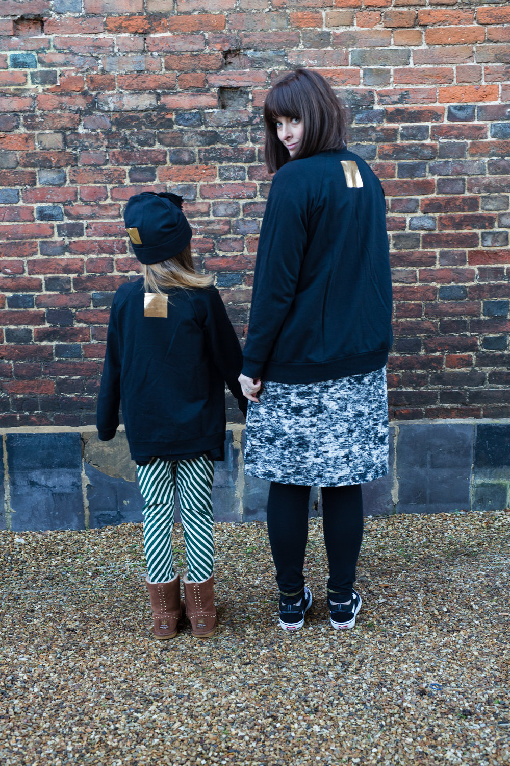 Kids and adults twinning organic cotton clothing by Papu